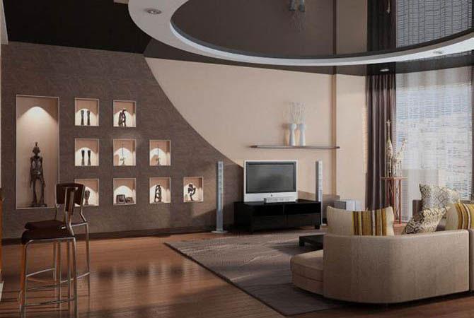 Дизайн интерьера двухкомнатной